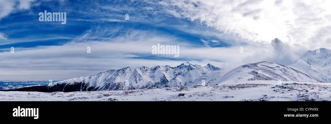 Fagaras mountain Stock Photo