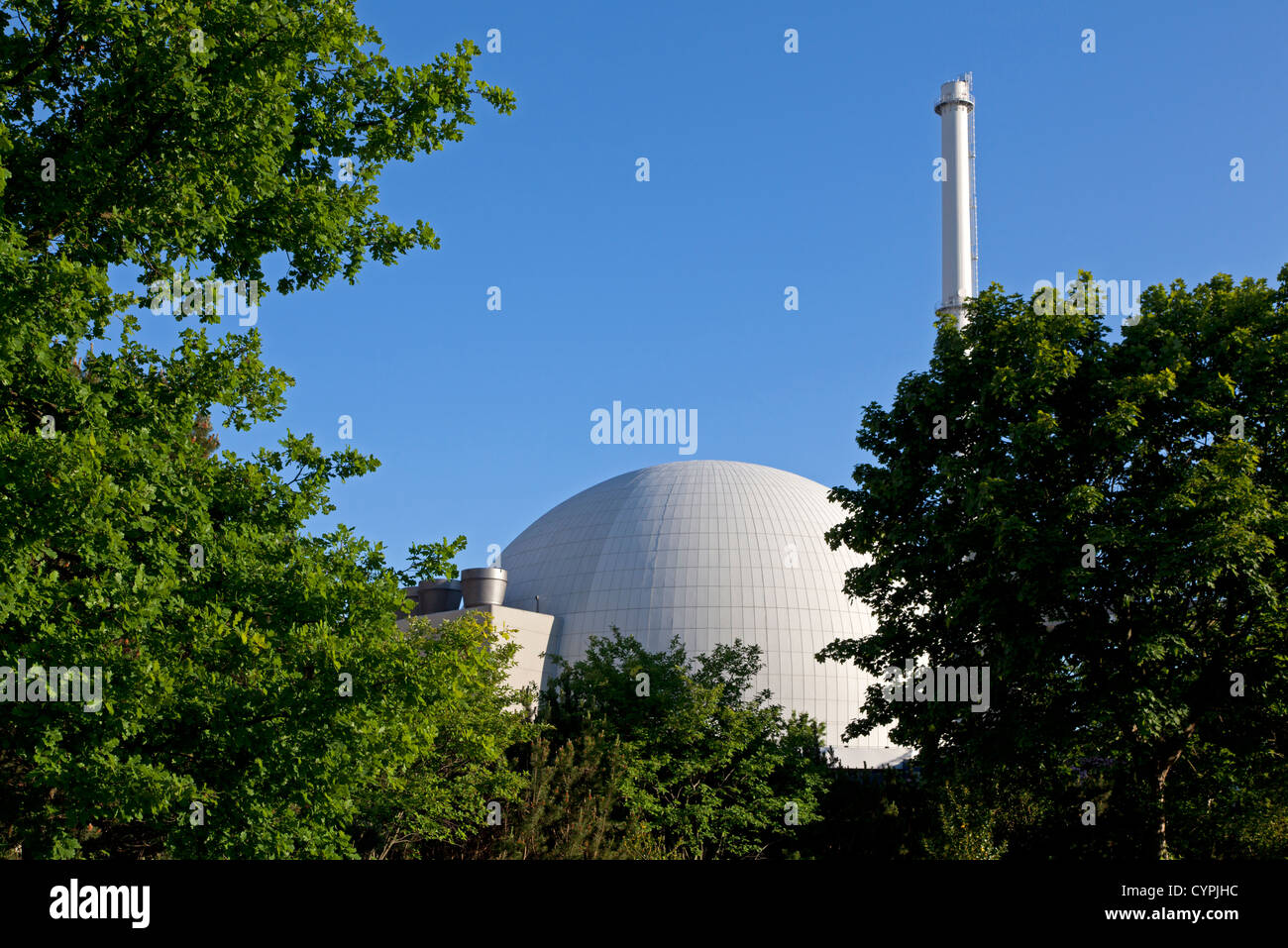 Nuclear power reactor, Germany - Stock Image