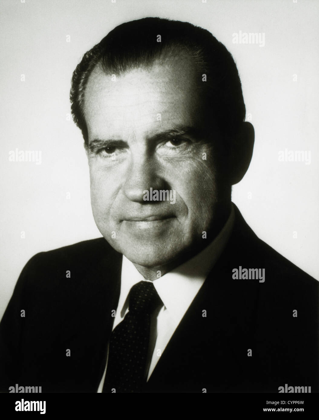 Richard M. Nixon (1913-1994), 37th President of the United States, Portrait - Stock Image
