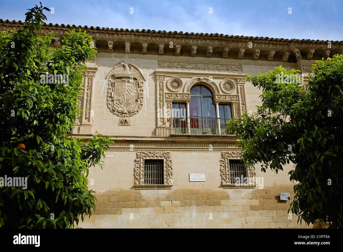 baeza council heritage site jaen Andalusia Spain ayuntamiento baeza patrimonio de la humanidad jaen andalucia españa Stock Photo