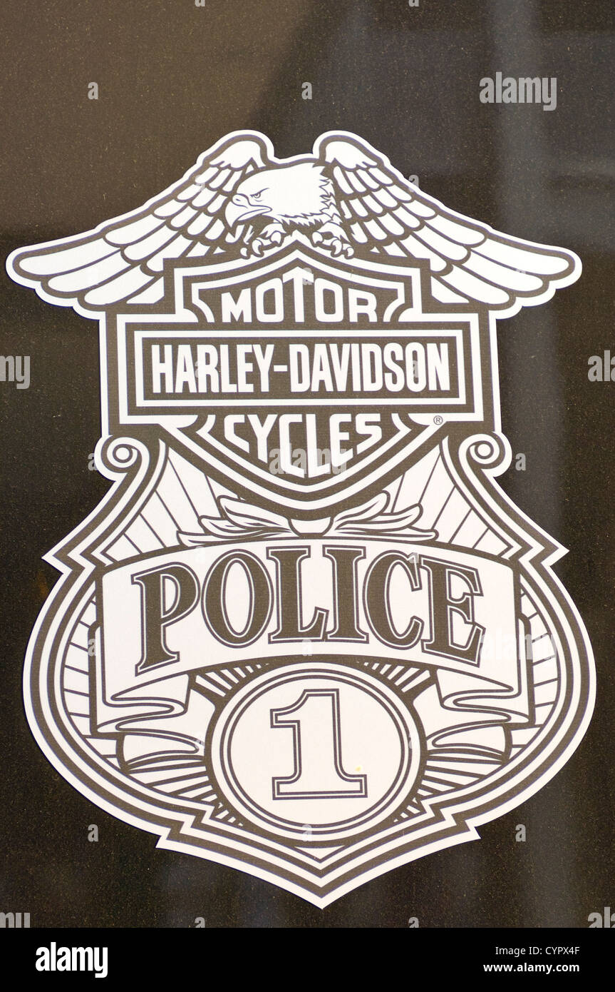Harley Davidson Logo Badge Stock Photos Amp Harley Davidson