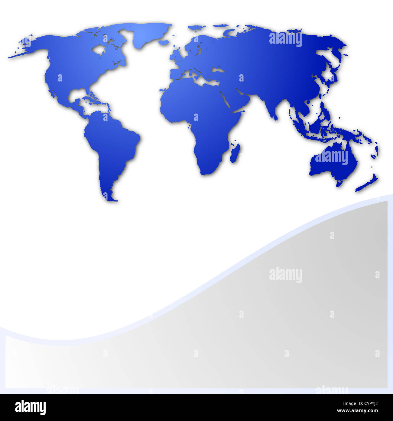 World map business card with copyspace for text message stock photo world map business card with copyspace for text message colourmoves