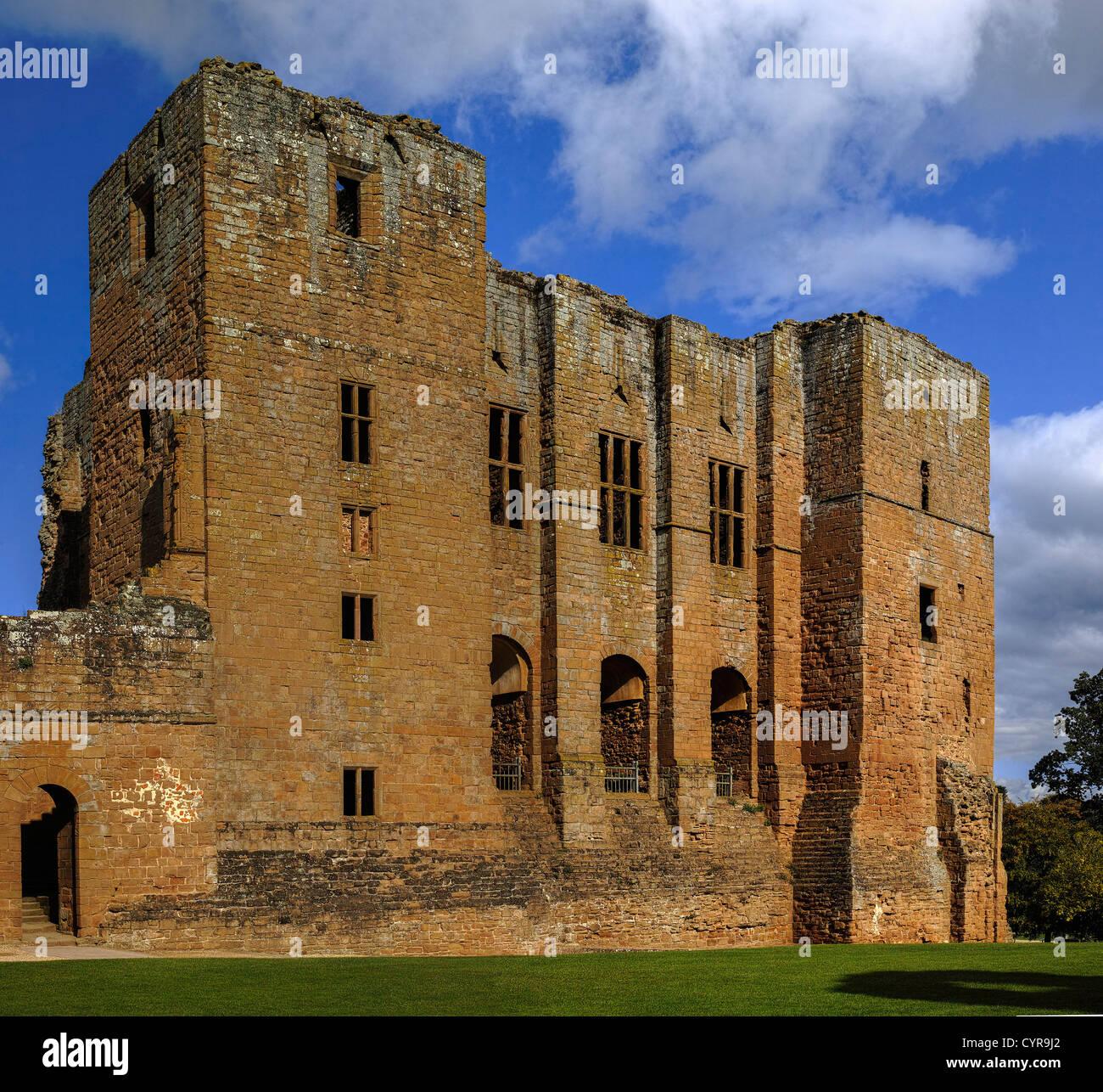 kenilworth castle warwickshire england uk - Stock Image