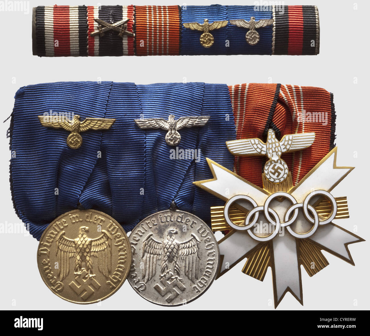 Order of Glory 3 degrees. Battle Awards WWII 7