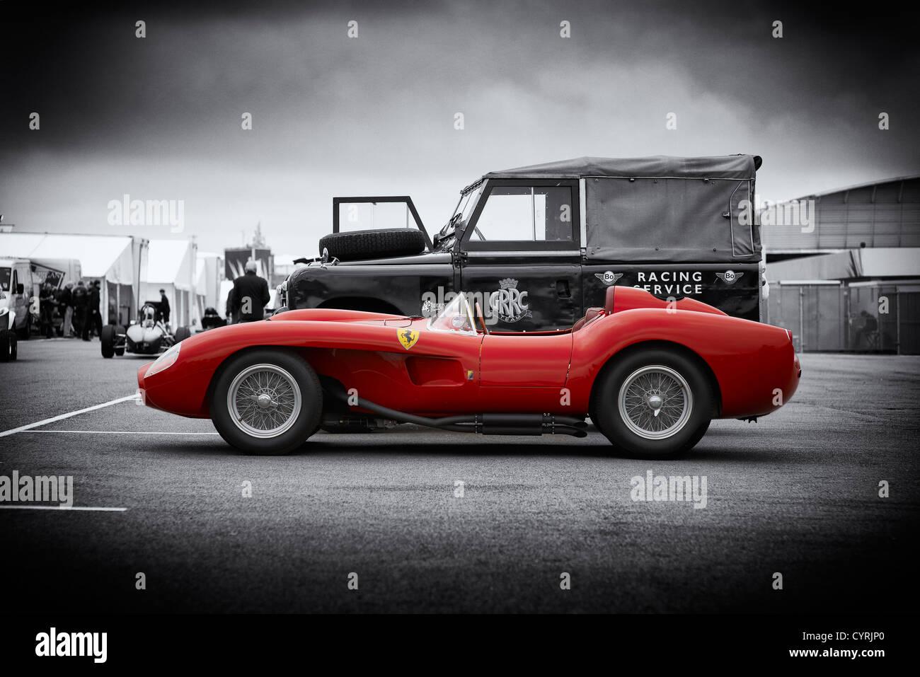 Ferrari, 250TR, 250, TR, Testa, Rossa, car, auto, classic Testarossa - Stock Image
