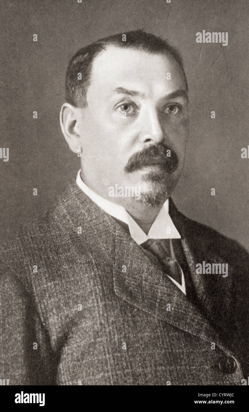 Louis Botha, 1862 – 1919. Afrikaner and first Prime Minister of the Union of South Africa. - Stock Image
