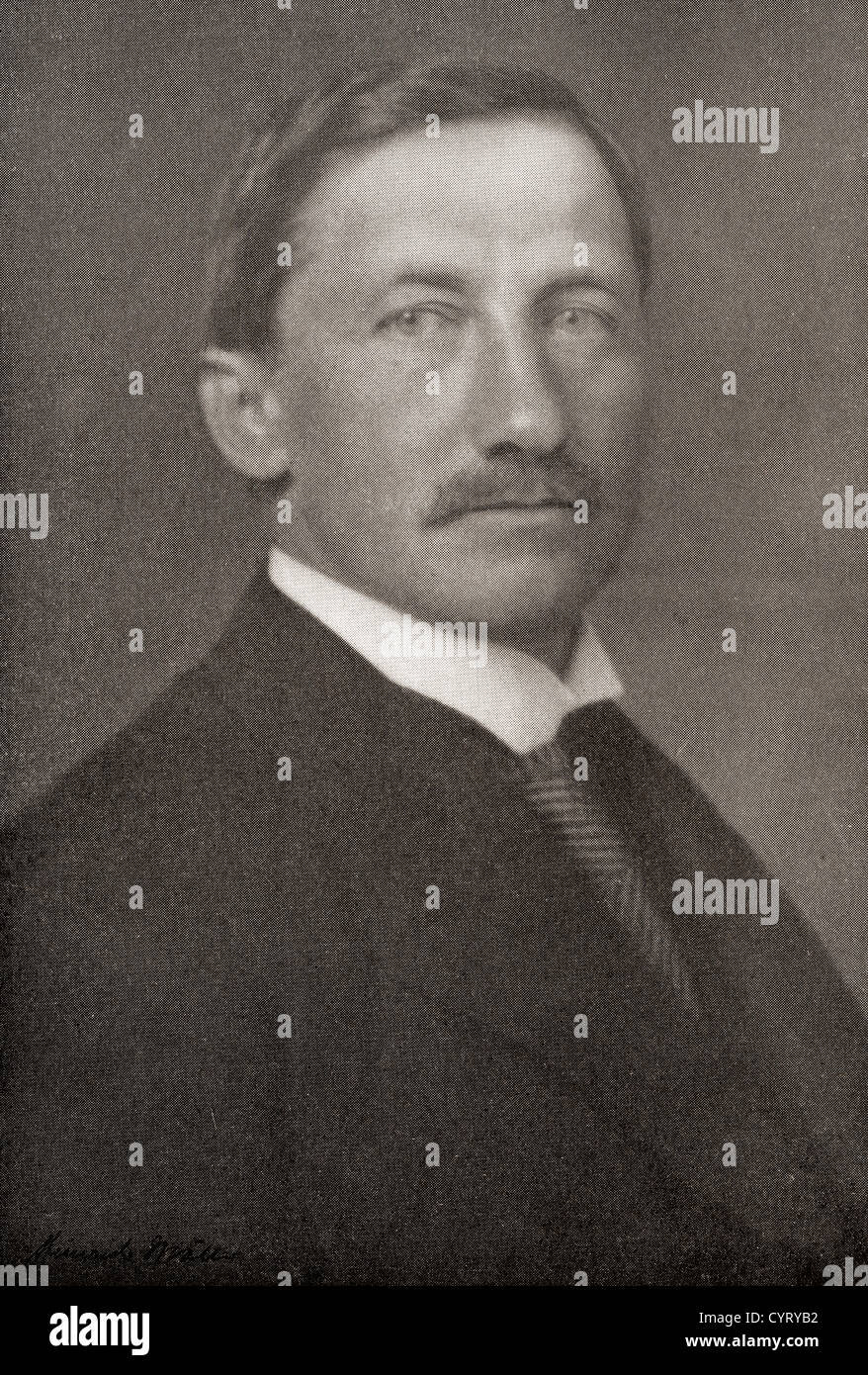 Frederick Albert Cook, 1865 –1940. American explorer and physician. - Stock Image
