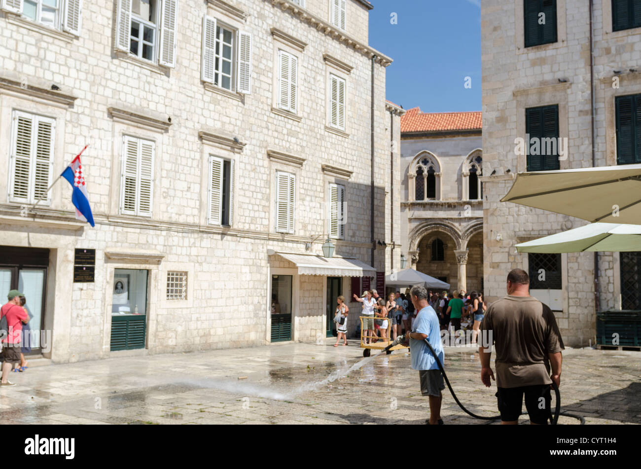 [nose piese] [water cannon] [old town] Dubrovnik - Stock Image