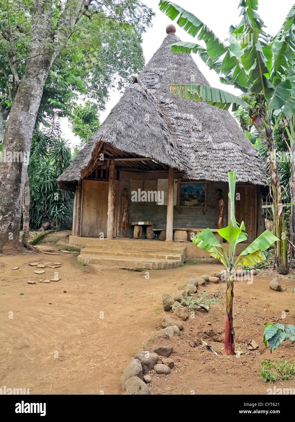 traditional tanzania east africa homes as seen on display at marangu rh alamy com