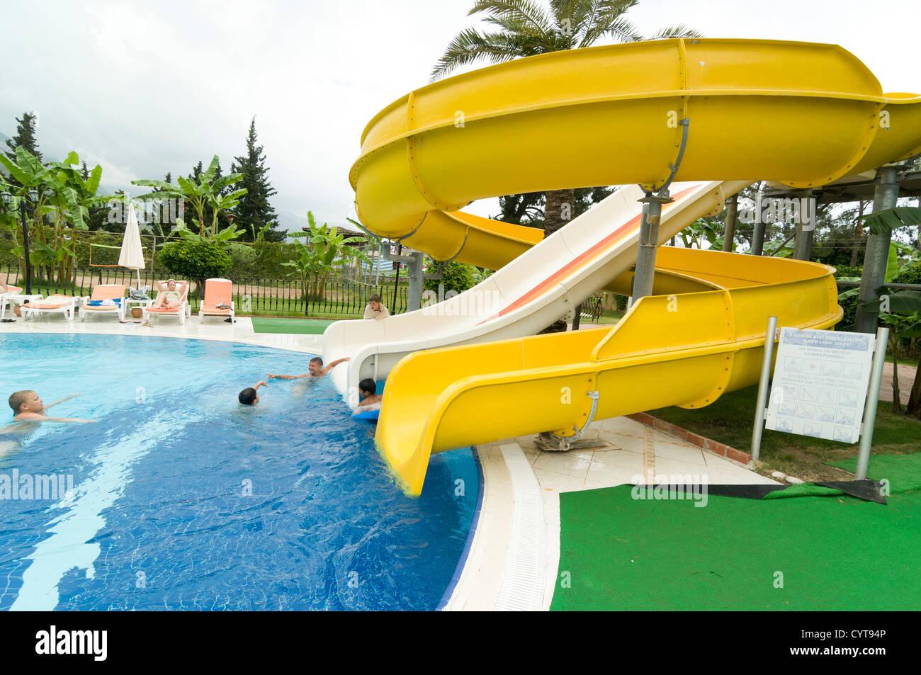 Water Slide Children Pool Kid Sunbed Hotel