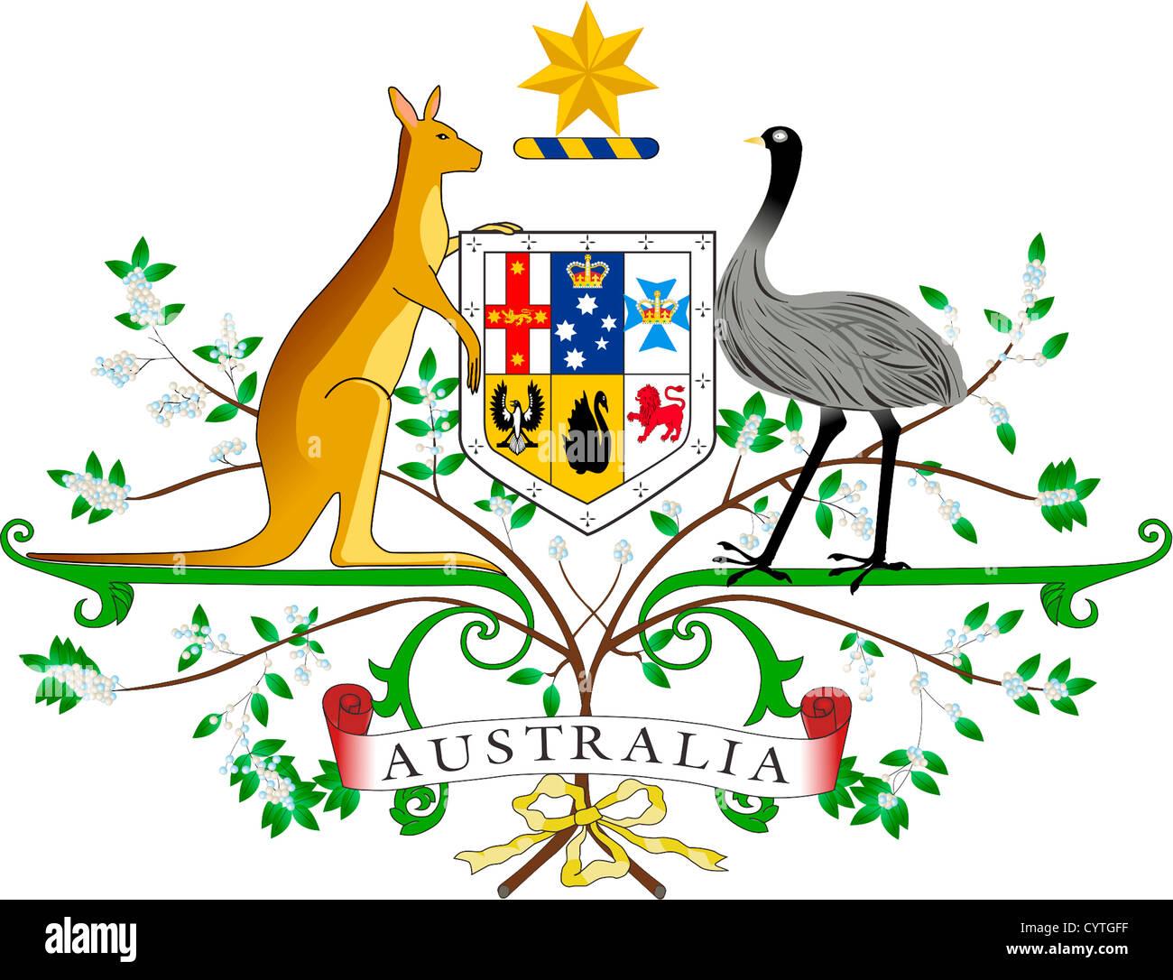 Australien Symbole