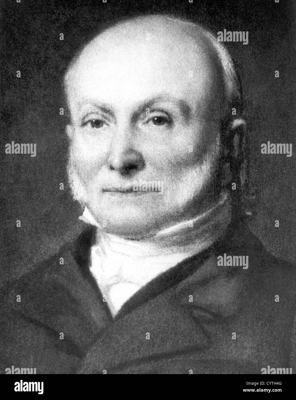 John Quincy Adams, 6th American president - Stock Image