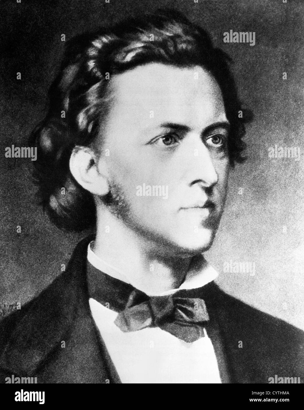 Frederick Chopin, composer - Stock Image