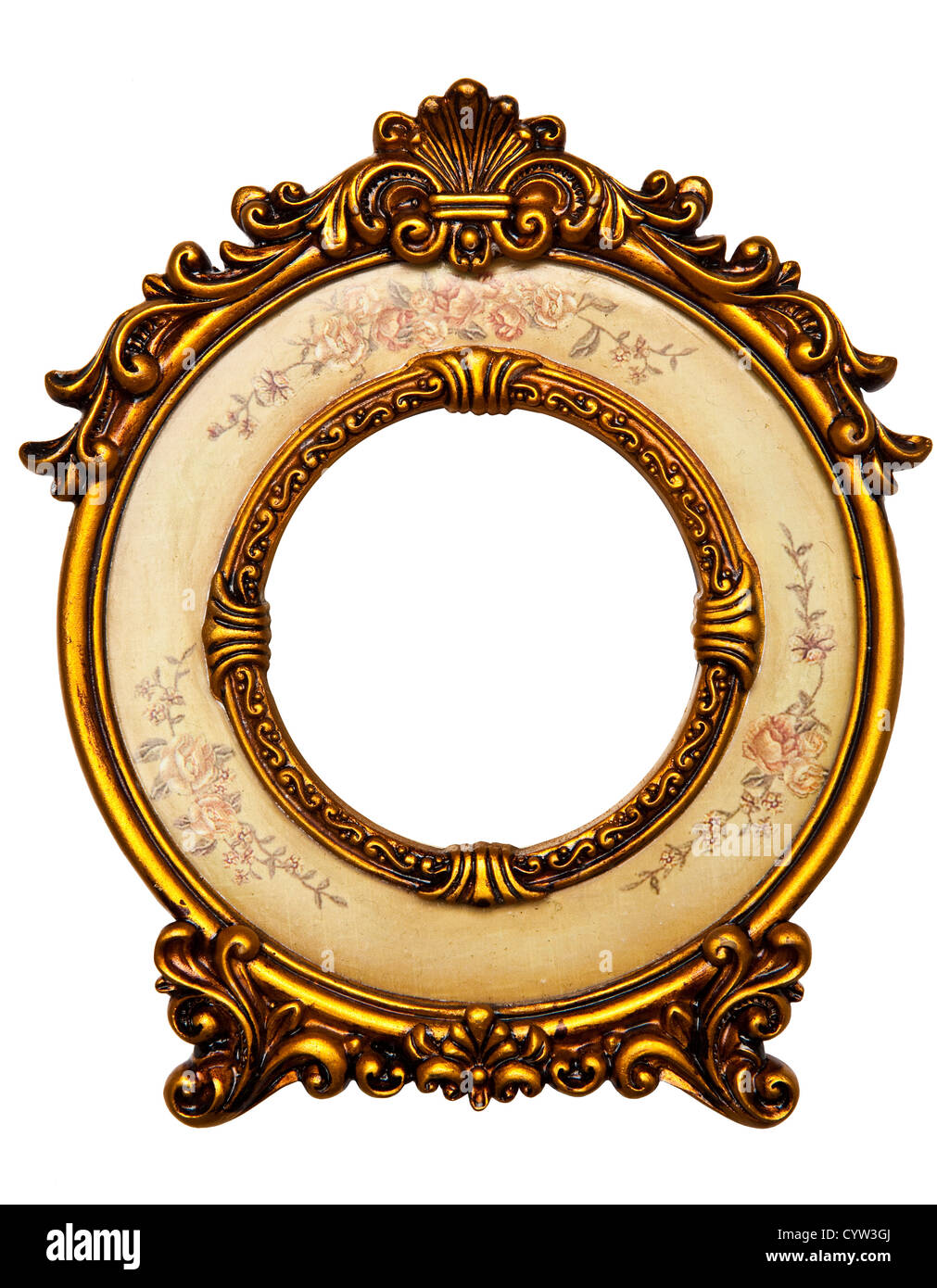 4a1356d7c62 Oval Frame Gold Stock Photos   Oval Frame Gold Stock Images - Alamy