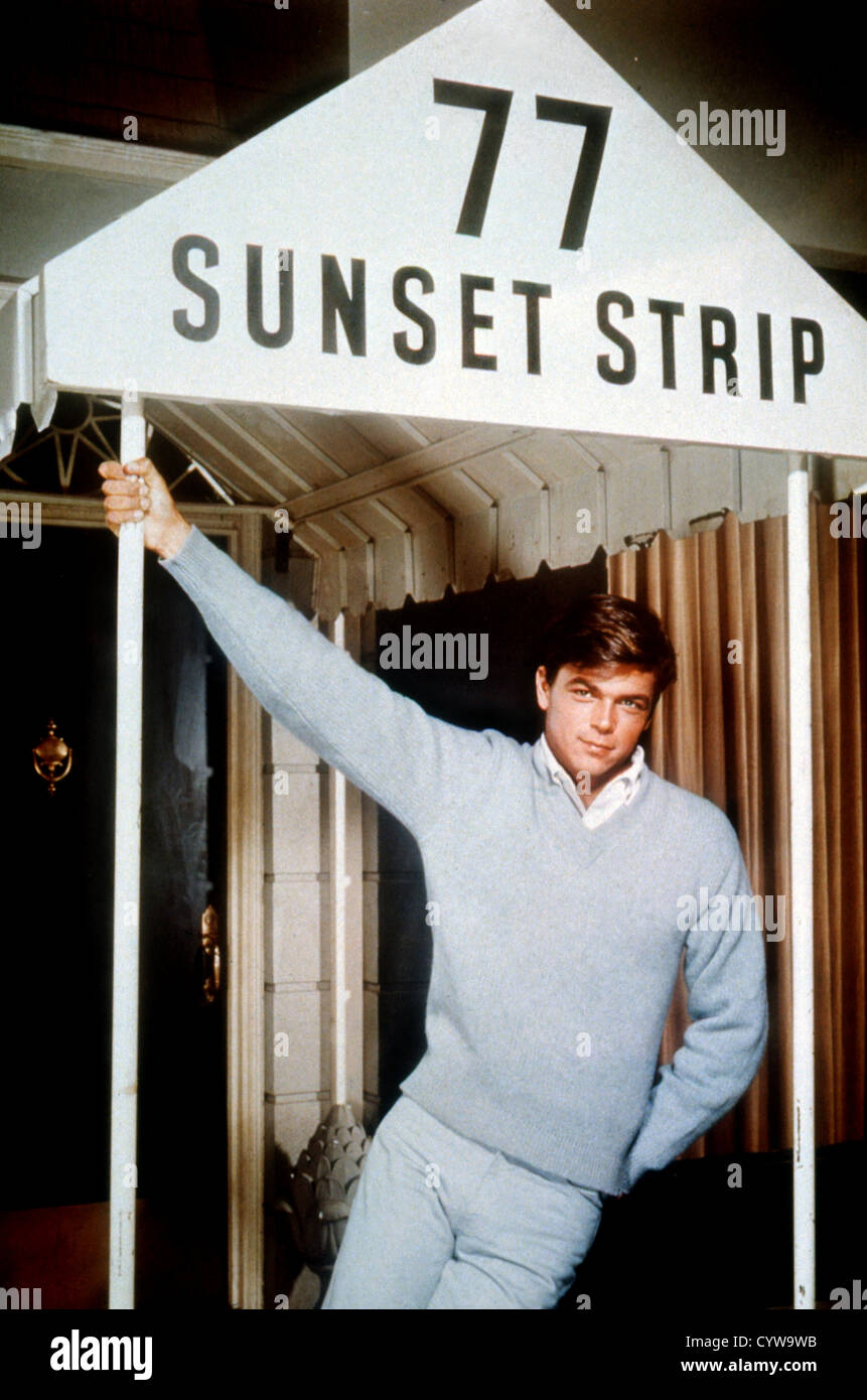 77 SUNSET STRIP (TV) (1958) SSSS 001 MOVIESTORE COLLECTION LTD - Stock