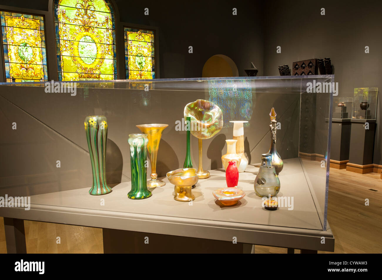 The Charles Hosmer Morse Museum of American Art, Winter Park, Florida. Stock Photo