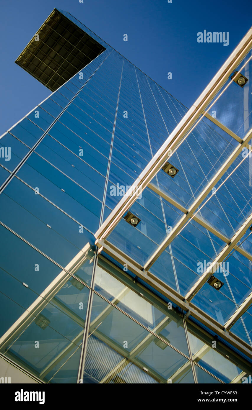 View upward a modern building - Stock Image