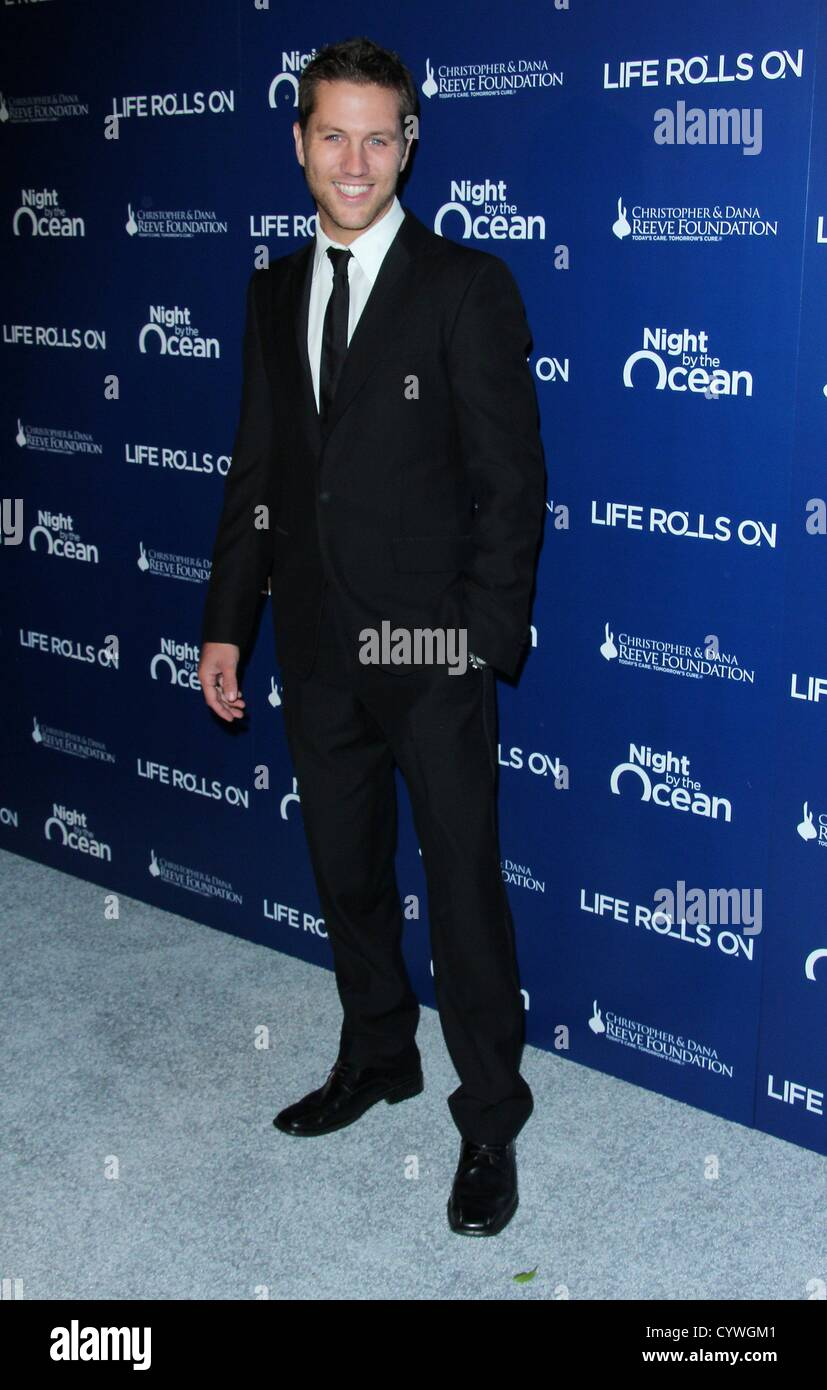 Nov. 10, 2012 - Los Angeles, California, U.S. - Ross Thomas   attends The  9th Annual Night by the Ocean Gala  on - Stock Image