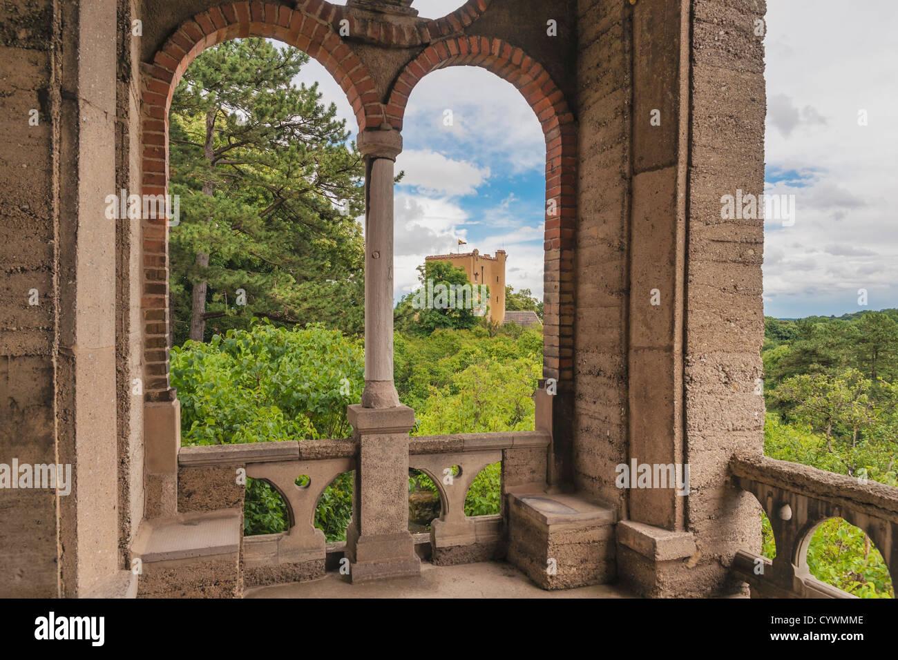 Roseburg Castle, Rieder, Quedlinburg, Harz, Saxony-Anhalt, Germany, Europe - Stock Image