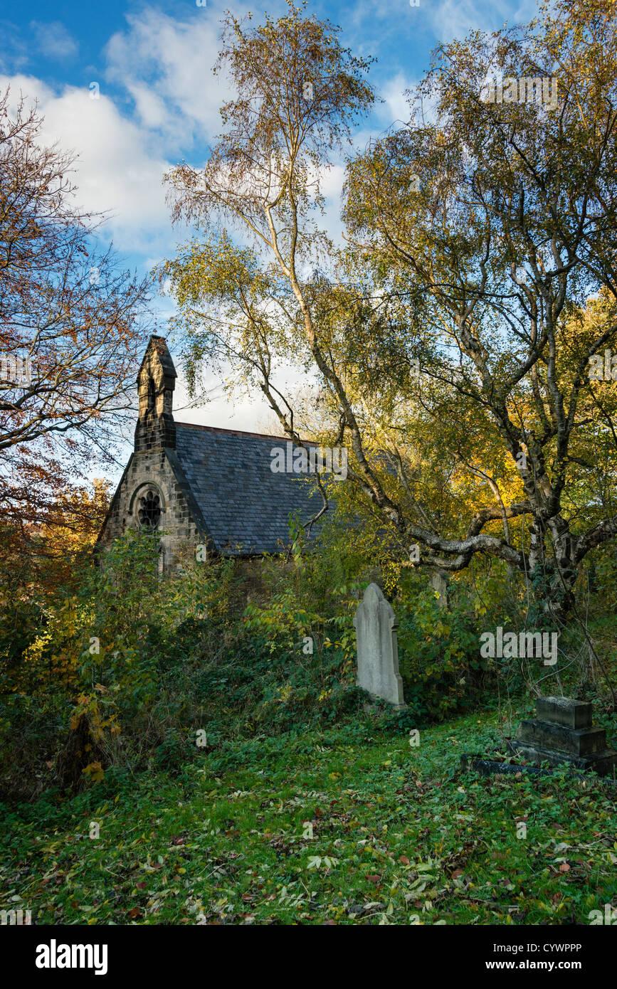 Churchyard - Stock Image