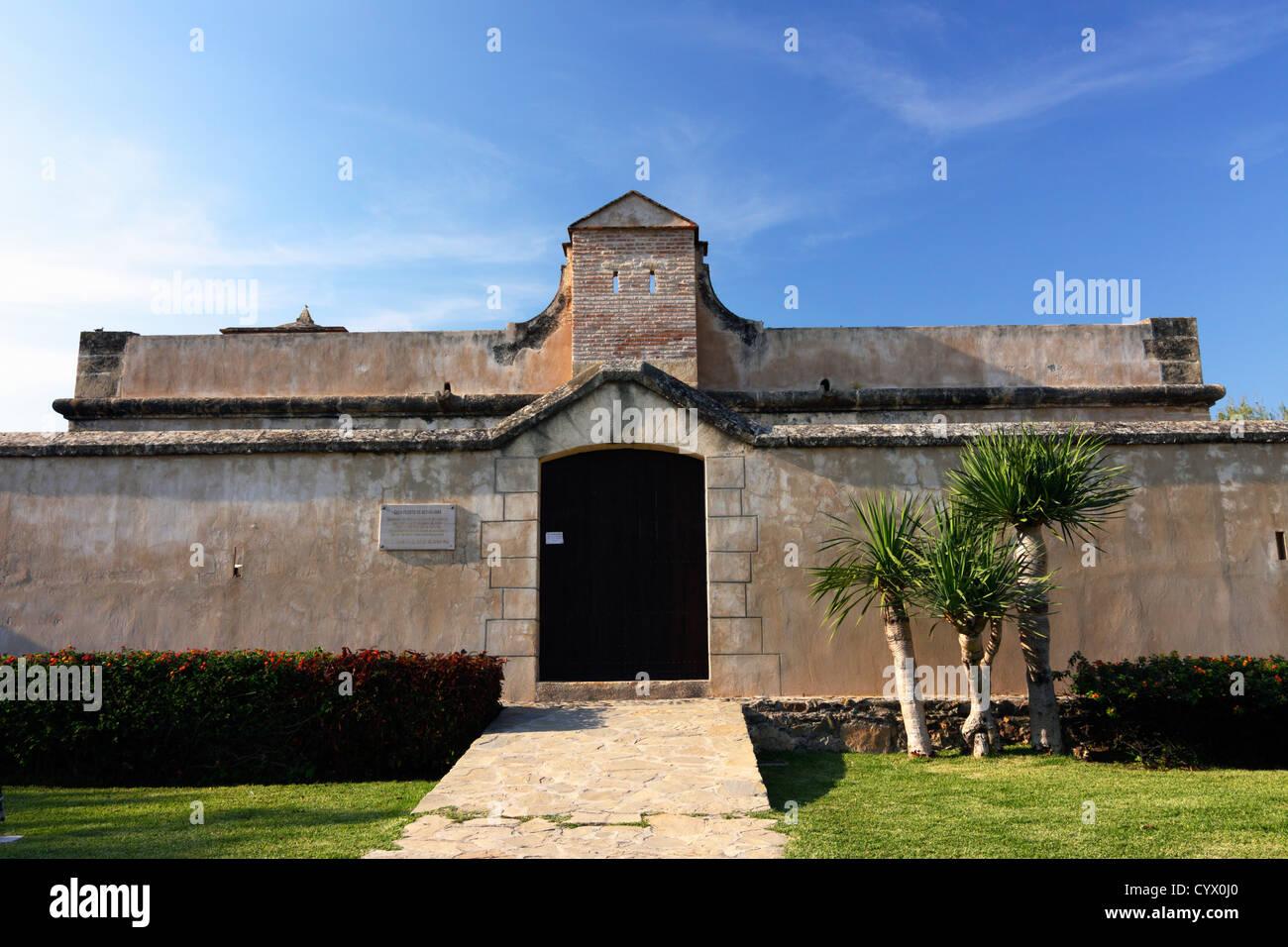 Bezmiliana Castle Rincon De La Victoria Malaga Spain Stock Photo