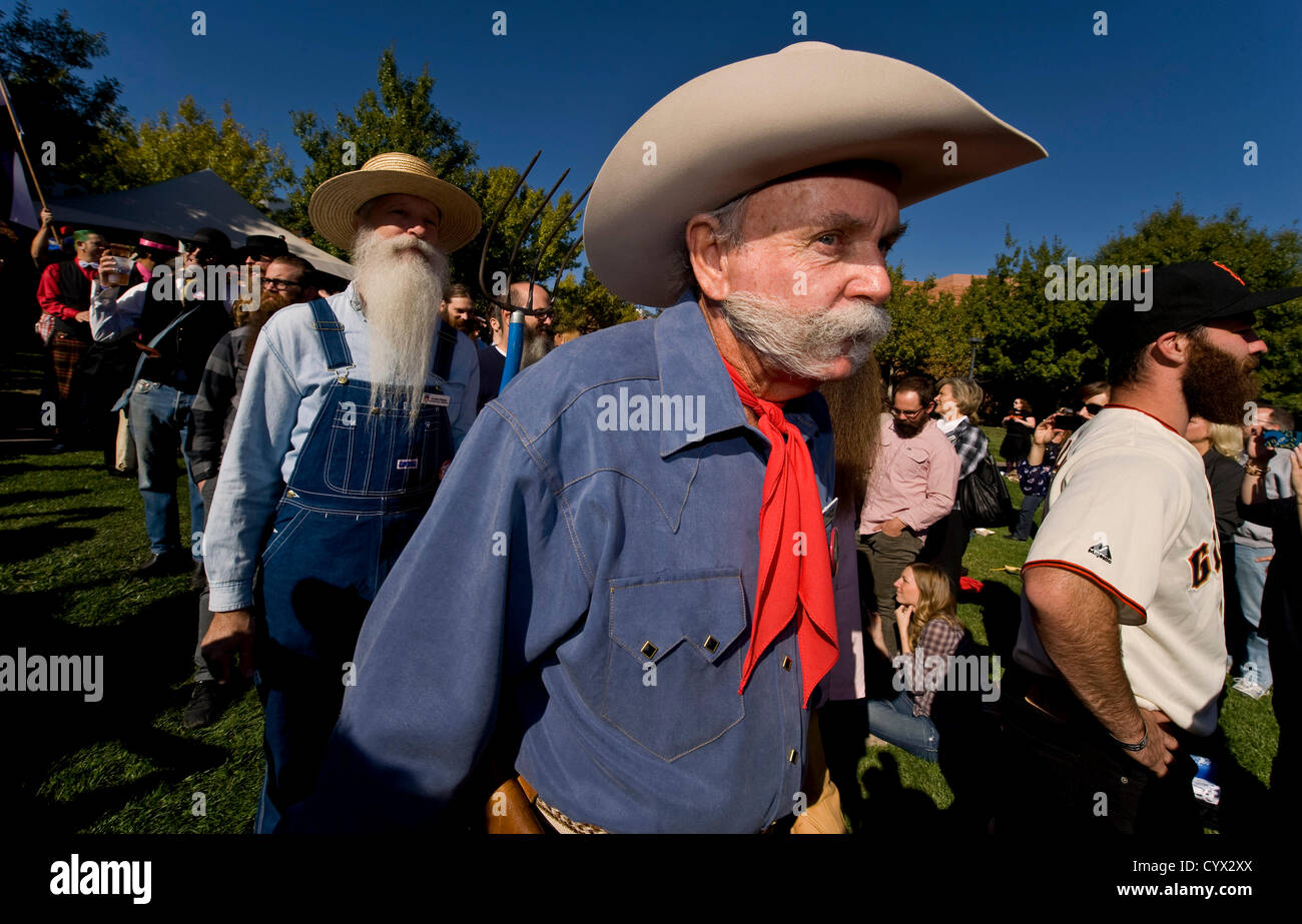 Nov. 11, 2012 - Las Vegas, Nevada, US - Participants march to the stage during opening ceremonies of the 3rd Annual Stock Photo