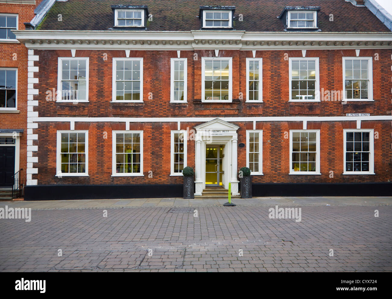 The Sailor's Home building Ipswich, Suffolk, England Stock Photo
