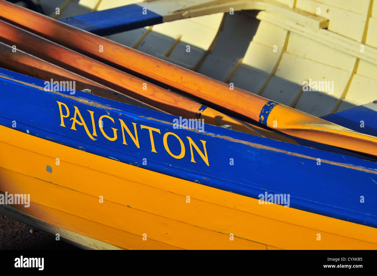 Rowing Boat - Stock Image
