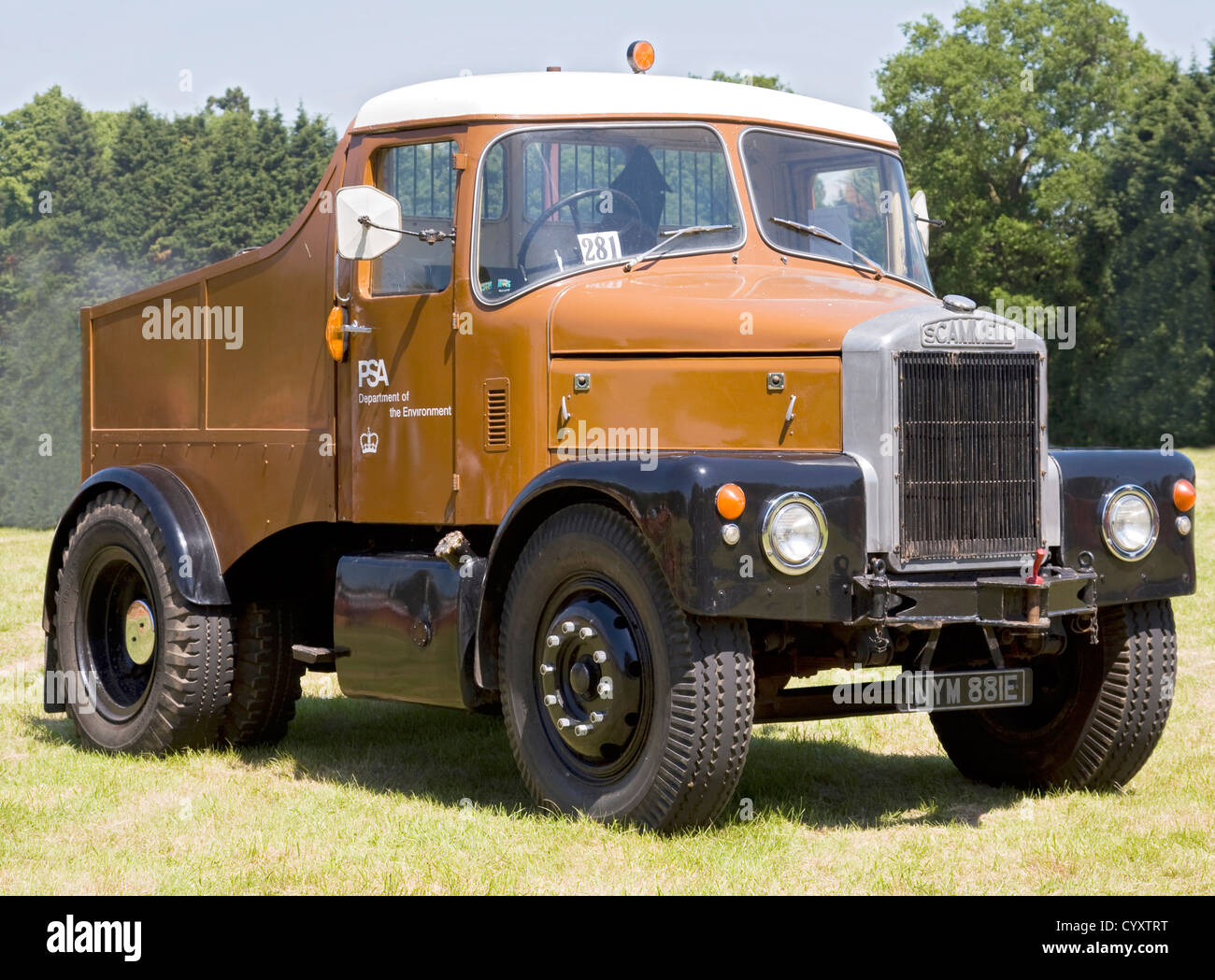 Scammell Highwayman Mk 3 - Stock Image