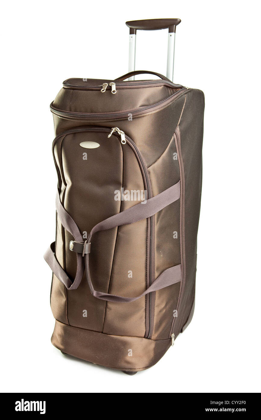 Luggage bag for travelings - Stock Image