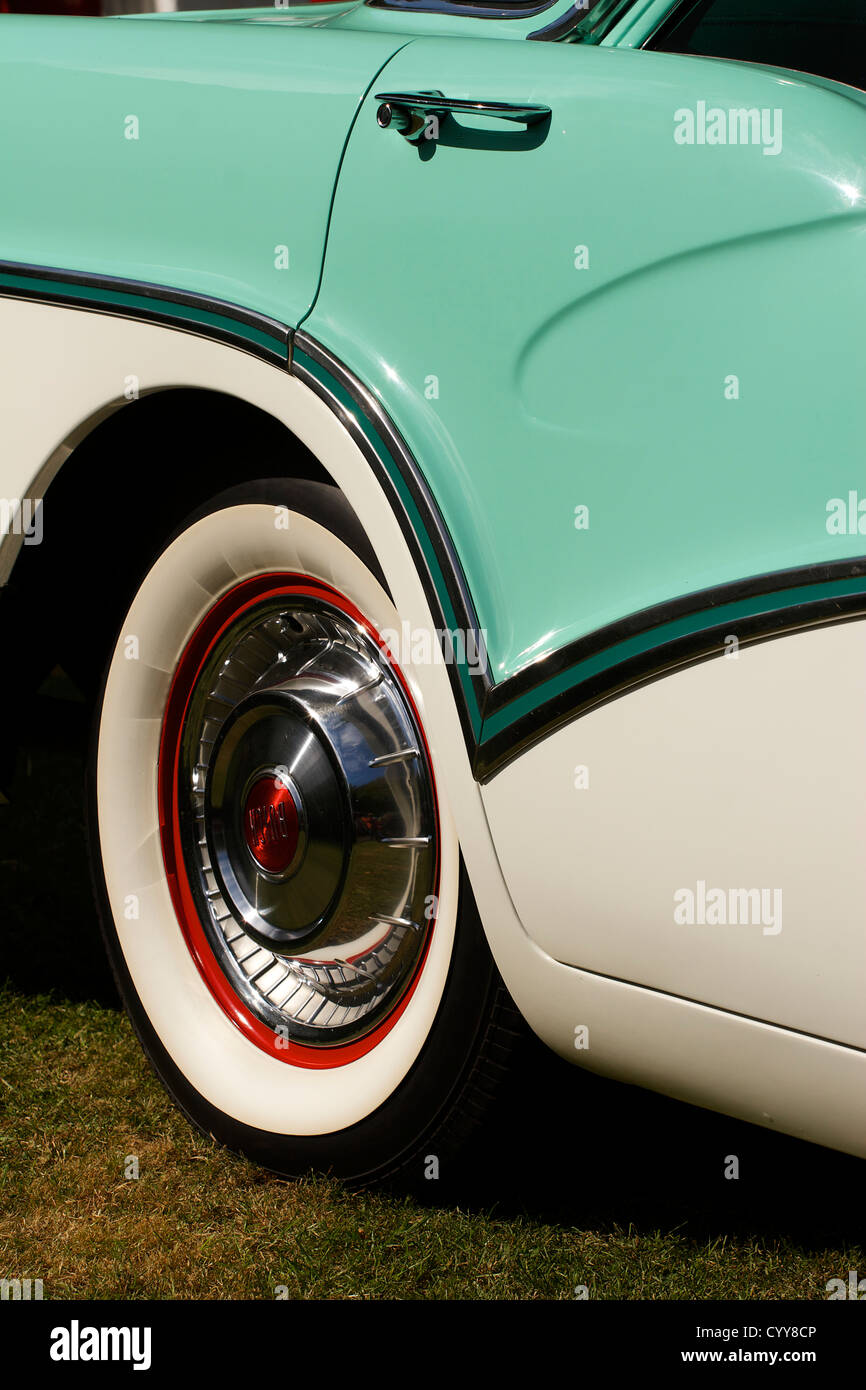 1950s Buick at Goodwood Revival - Stock Image