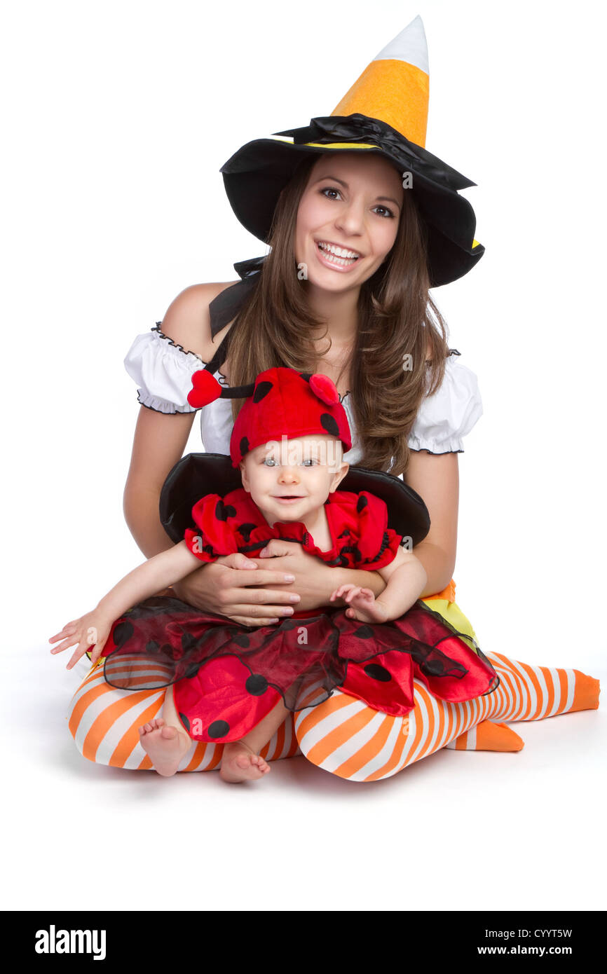 Mother daughter wearing halloween costume  sc 1 st  Alamy & Mother daughter wearing halloween costume Stock Photo: 51628133 - Alamy