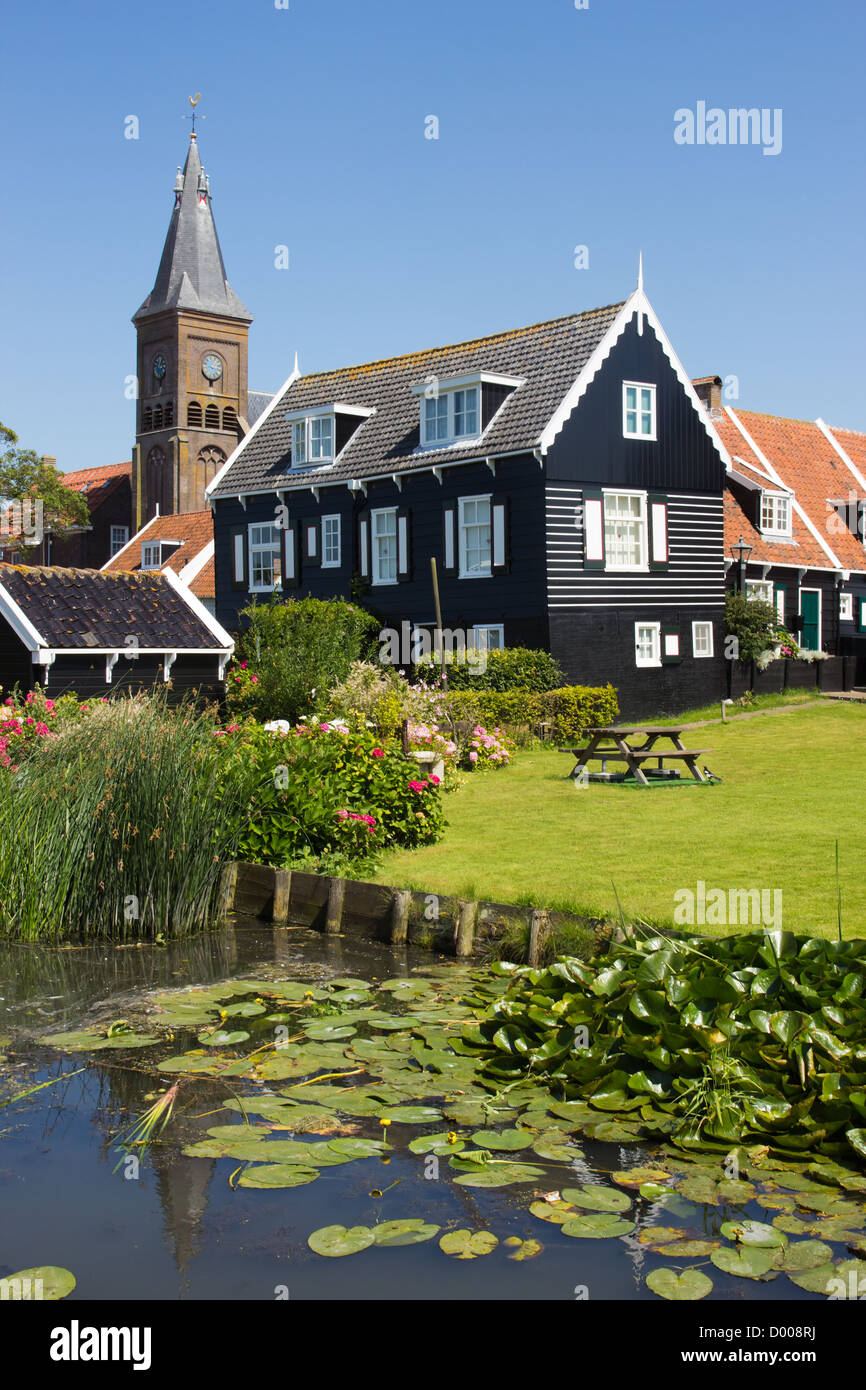 Historical town of Marken in The Netherlands - Stock Image