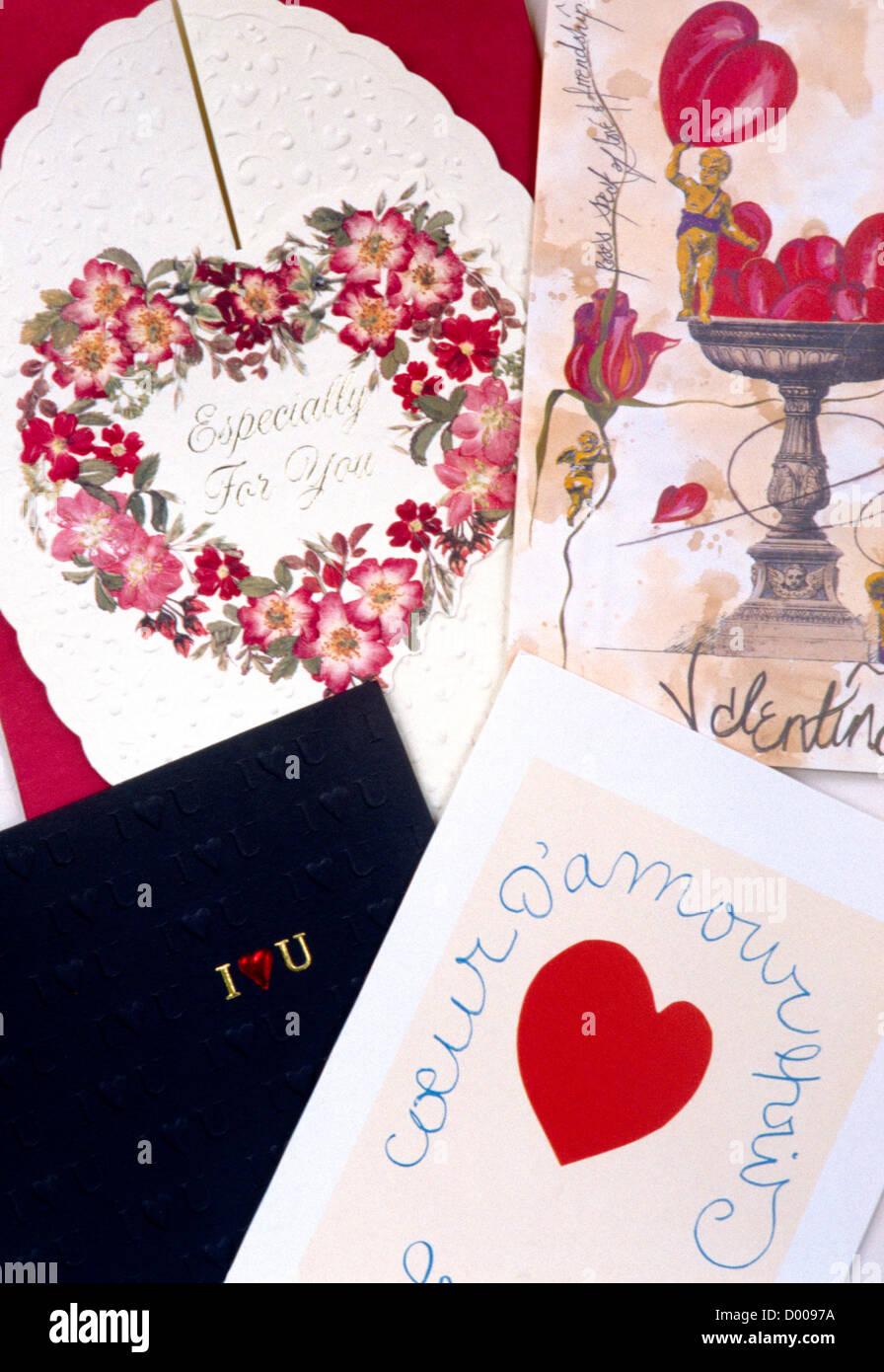 Valentine Cards Stock Photos Valentine Cards Stock Images Alamy