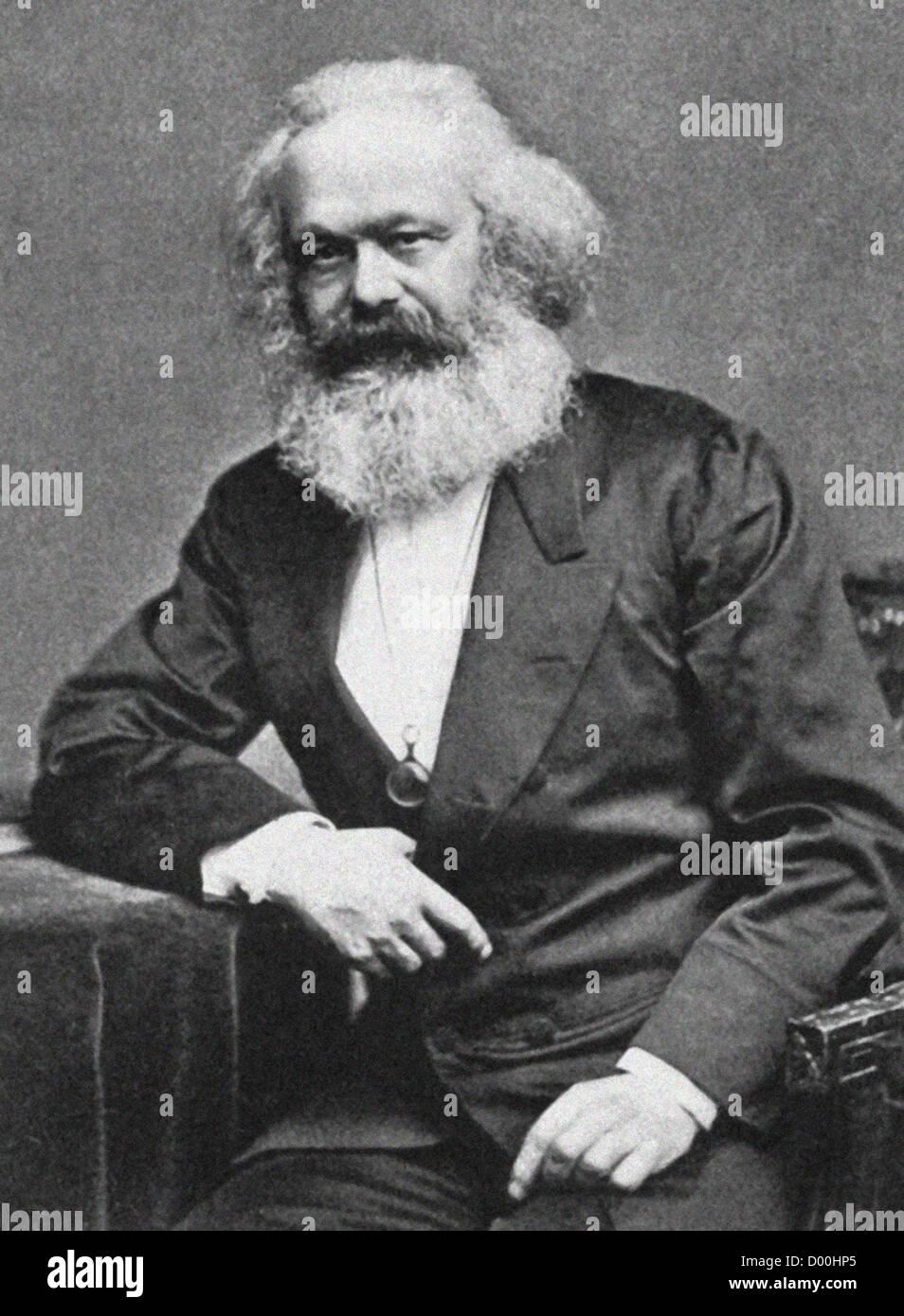 Karl Heinrich Marx was a German philosopher, economist, sociologist, historian, journalist, and revolutionary socialist. - Stock Image
