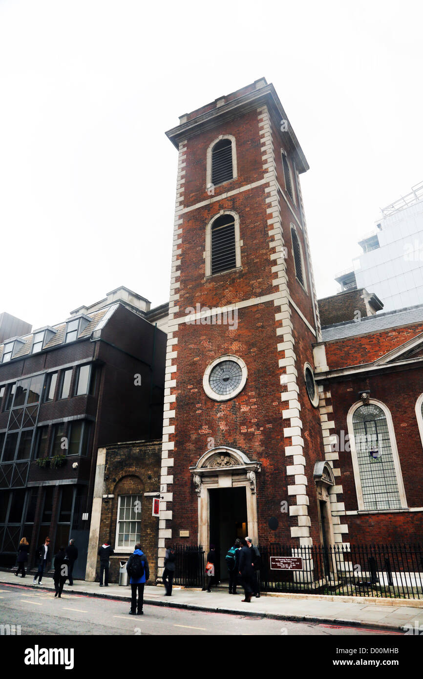 London England Exterior Of The Old Operating Theatre Museum And Herb Garret - Stock Image