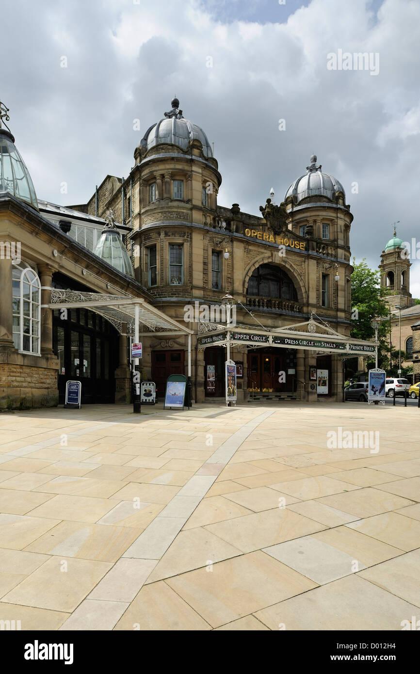 Buxton Opera House, designed by architect Frank Matcham. Buxton, Derbyshire, UK. - Stock Image