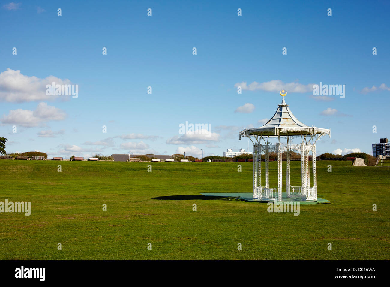 Bandstand at Southsea, Porstmouth, UK Stock Photo