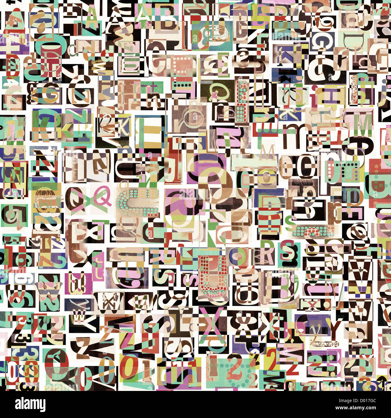 designed background. digital collage made of newspaper clippings