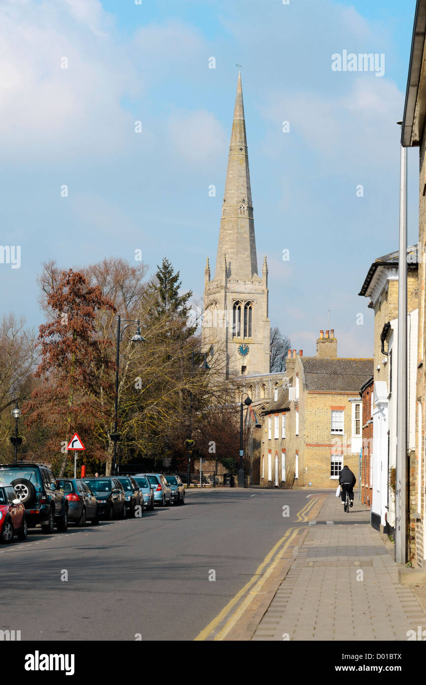 All Saints church, St Ives, Cambs. - Stock Image