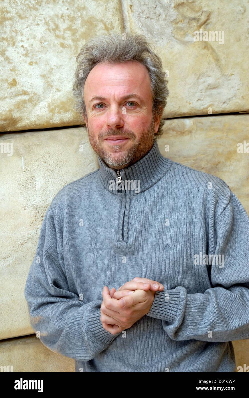 Frédéric Lenoir, filósofo y sociólogo, Autor de la novela EL oráculo de la luna. - Stock Image