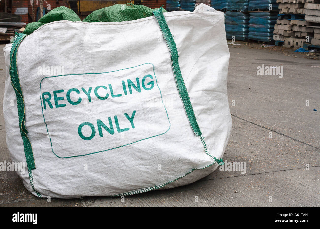 recycling global environment Stock Photo
