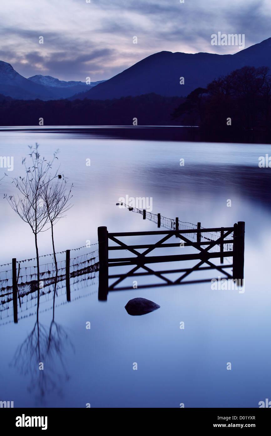 Derwent Water, Lake District - Stock Image