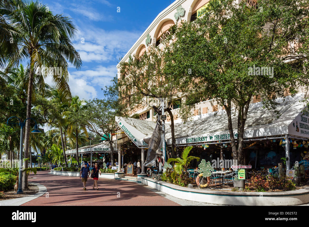 Restaurant At Las Olas Riverfront Development On The