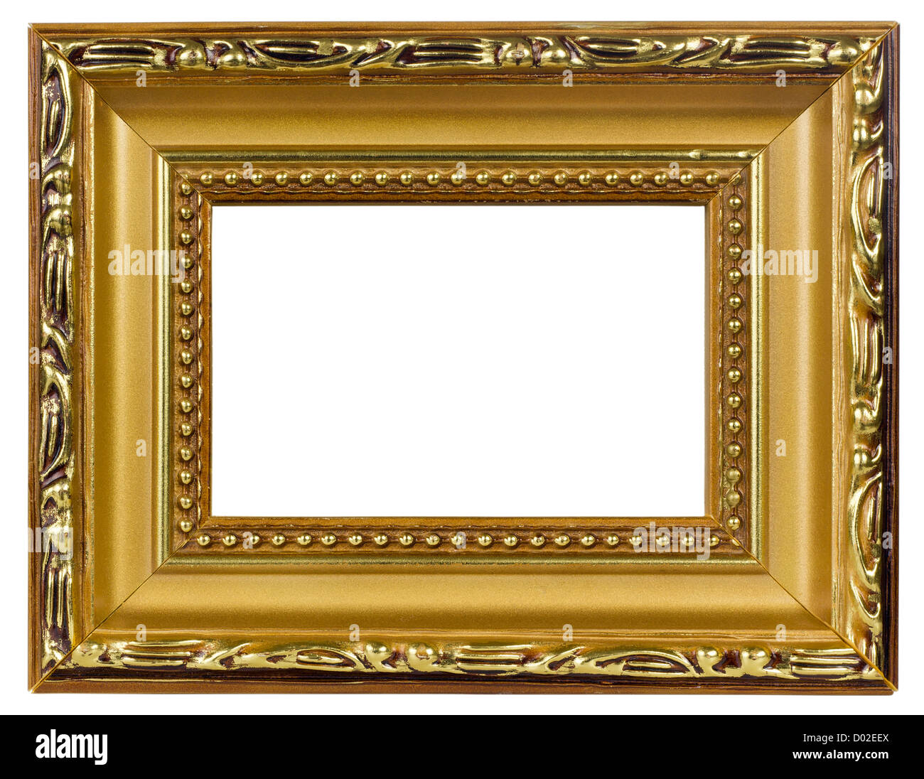 Elegant handmade wooden Golden Picture Frame, paint from a bronze ...