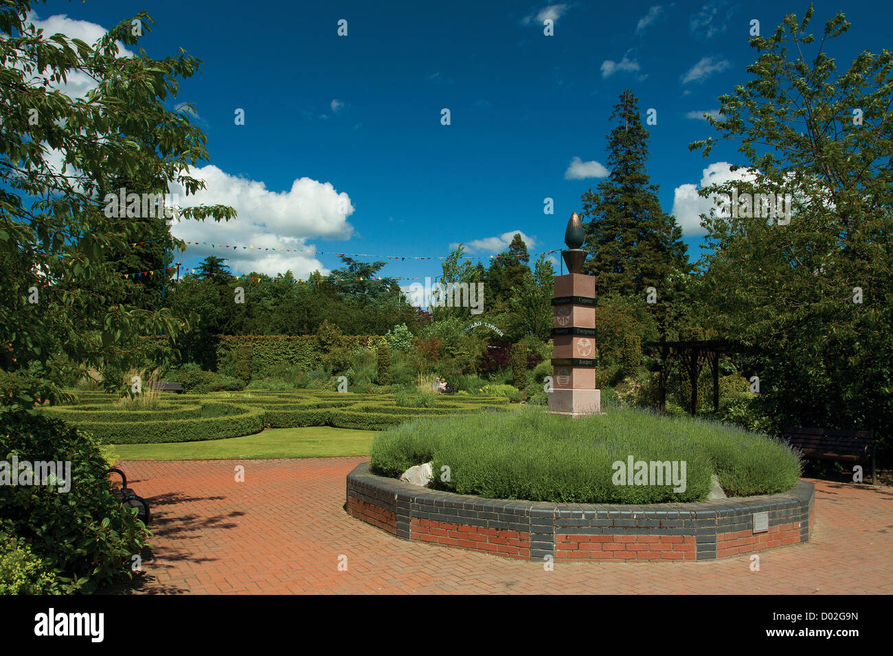 Rodney Gardens, Perth, Perthshire - Stock Image