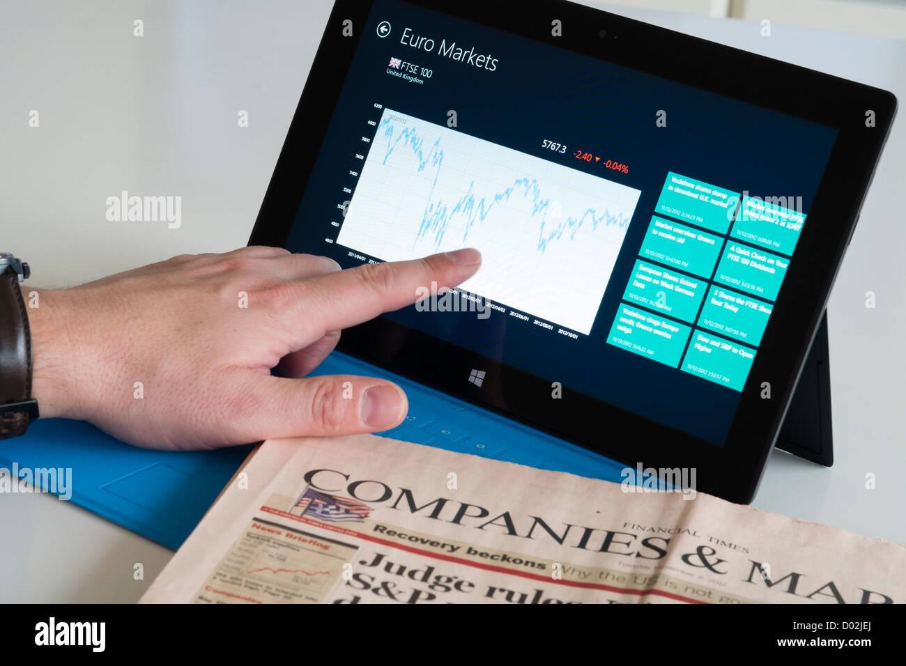 Windows 8 Screen Stock Photos & Windows 8 Screen Stock