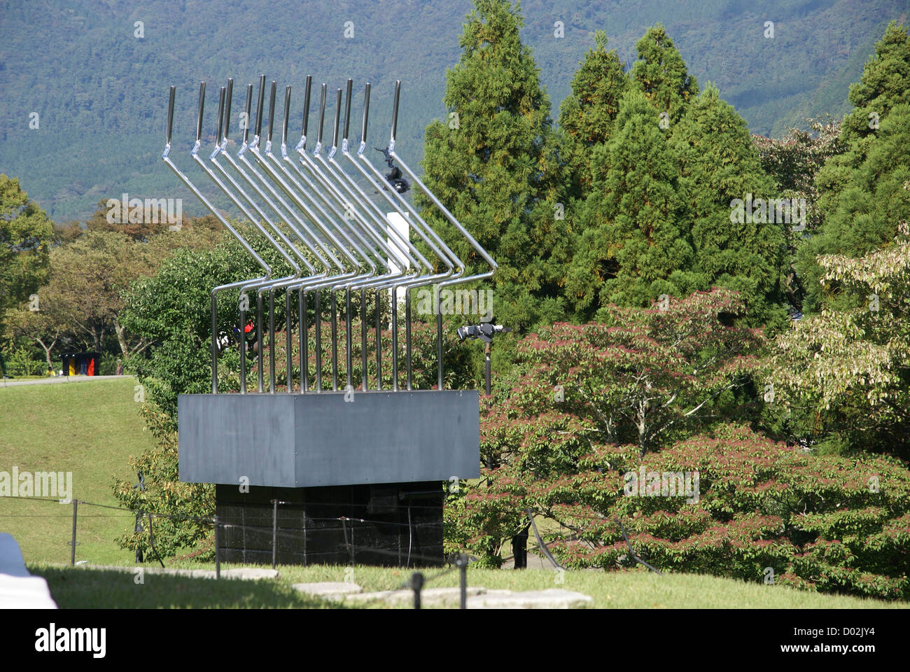 Japan, Honshu Island, Kanagawa Prefecture, Fuji Hakone National Park, Hakone Open-Air Museum - Stock Image