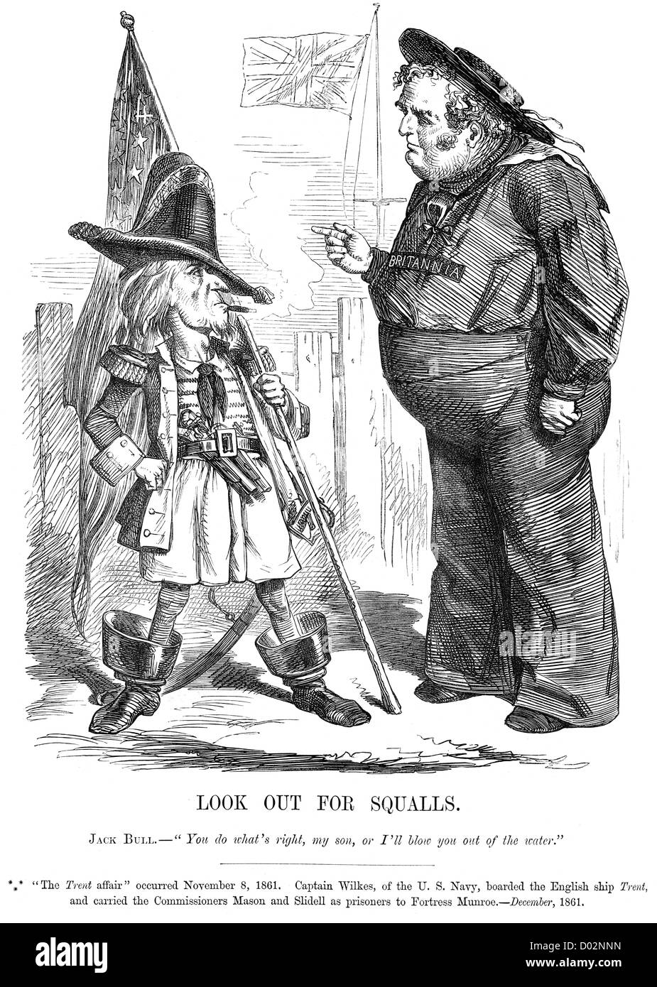 british political cartoon and john bull stock photos british