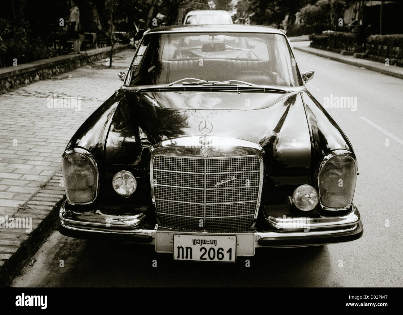 Classic Vintage Car. A classic Mercedes Benz car. Cars Vehicle Stock ...